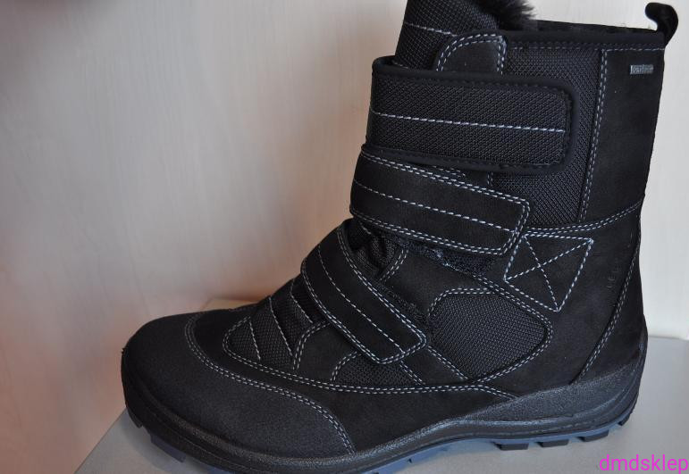 53fdeadf86ae Obuwie buty na trzy rzepy męskie młodzieżowe zimowe 9-955-00 TORINO ...
