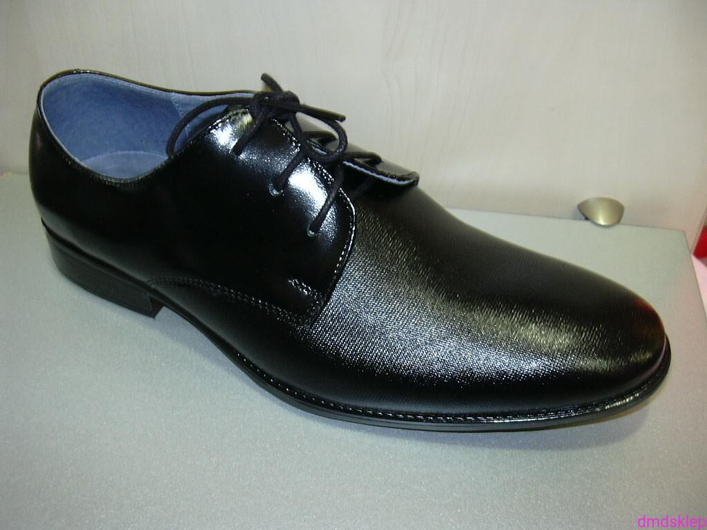 44cf70b0 Buty komunijne dla chłopców 560 czarne r32-41 sklep internetowy DMD