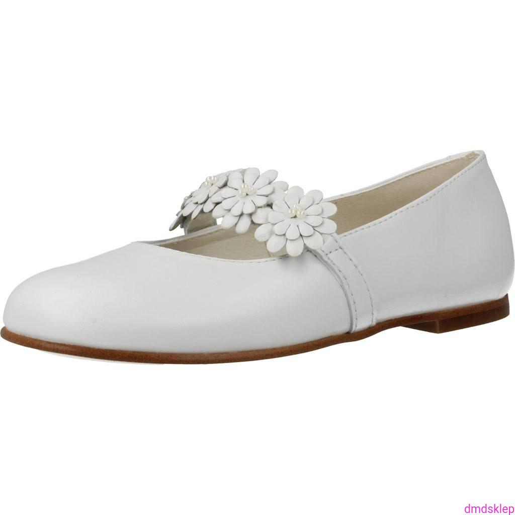 55df3cbe Buty komunijne dla dziewczynki Pablosky 823103 kolor biały r37 sklep ...