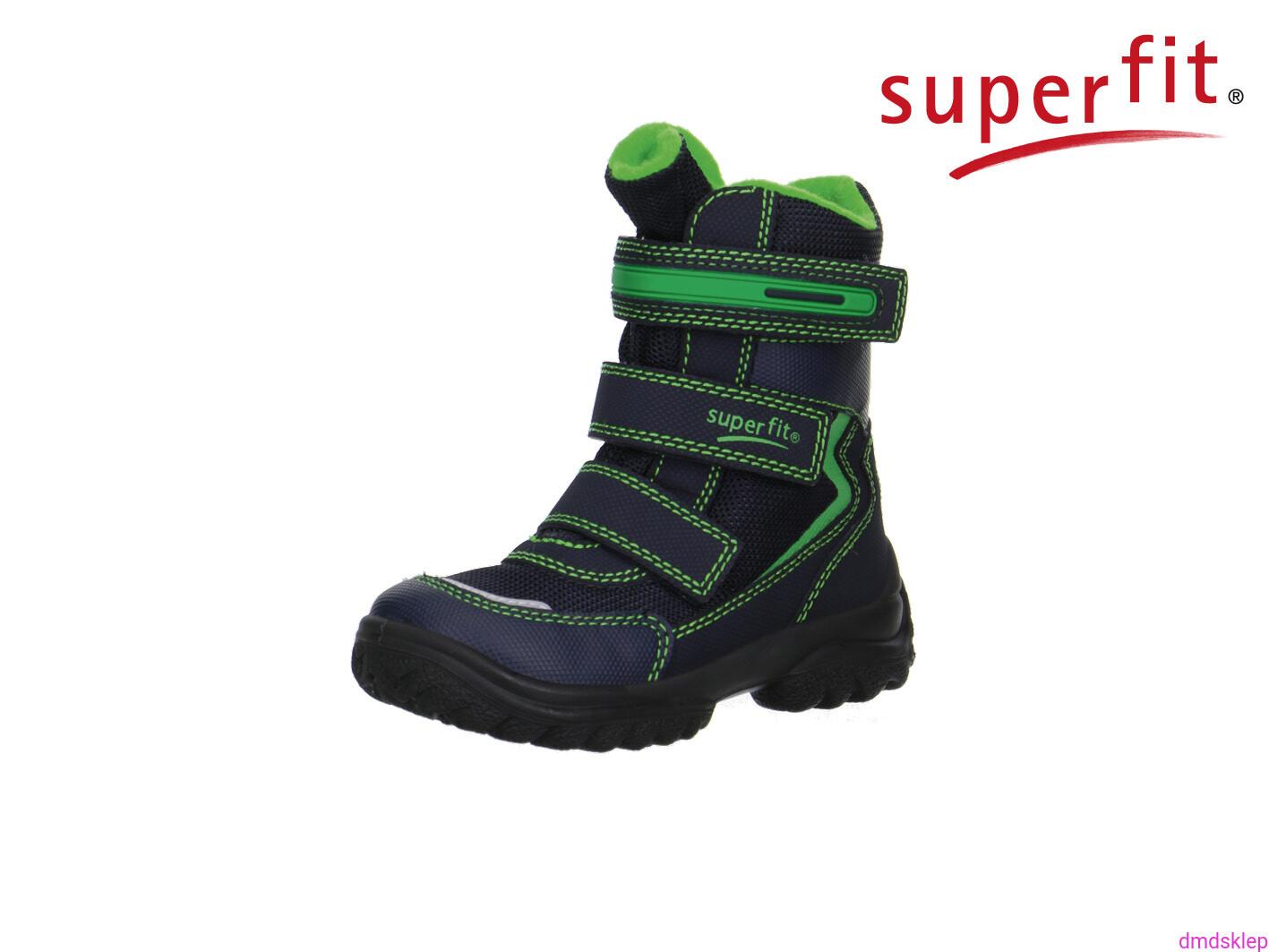 e4dcc3cb Obuwie zimowe dziecięce Superfit 1-00022-81 SNOWCAT gore-tex 25-35