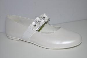 650bfefc21fad Buty do komunii dziewczęce Primigi 14369 22 kolor biały- perła BRAK