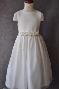 ab0d40dc46 Sukienka dziecięca przebranie po komunii kwiatki brak