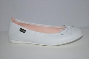 bd4d7f77aa1cf Buty komunijne dla dziewczynki Pablosky 830605 kolor biały rozmiary 34-38